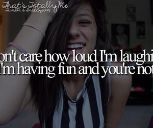 fun, laughing, and having fun image