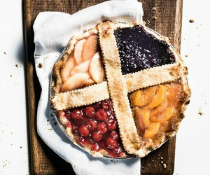 fruit, pie, and food image