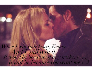 kiss, once upon a time, and quote image