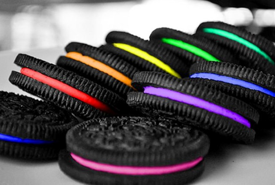 color, food, and oreo image