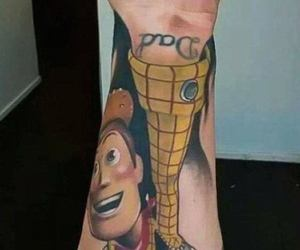 Tattoos and toy story image