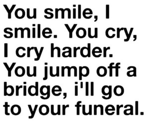 cry, funeral, and quotes image