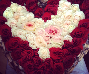 love, bouquet, and flowers image