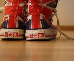 converse, all star, and england image