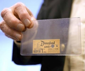 disney, disneyland, and ticket image