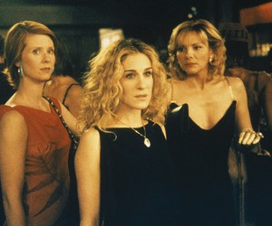 satc, sex and the city, and carry bradshaw image
