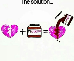 nutella, sweet, and love image