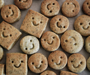 Cookies, smile, and food image
