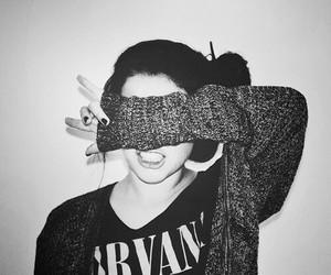 girl, nirvana, and grunge image