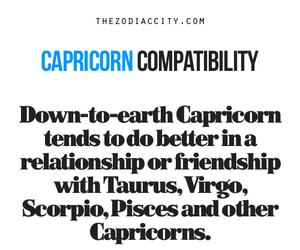 horoscope, zodiac, and capricorn image