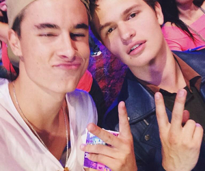 jc caylen, our2ndlife, and ansel elgort image