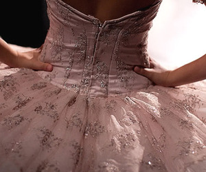 dress, pink, and ballet image