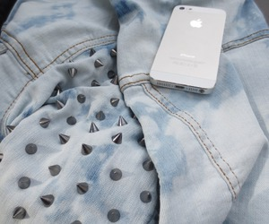 iphone, fashion, and jacket image