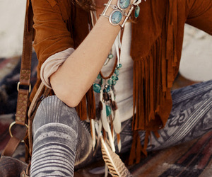 style and bohemian image