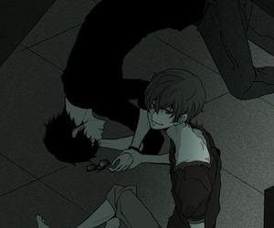 anime boy and zankyou no terror image