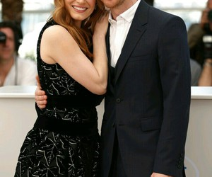 cannes, couple, and james mcavoy image