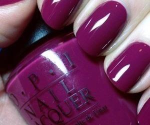 nail lacquer, nail polish, and nails image