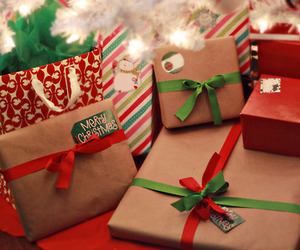christmas, present, and gift image