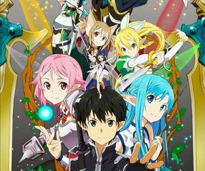 sao, sword art online, and anime image