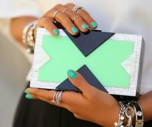 fashion, clutch, and bag image