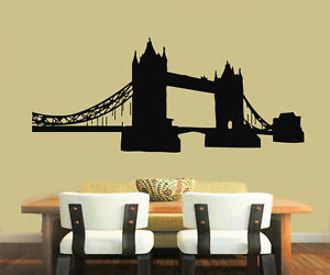 london, London bridge, and wall decals image