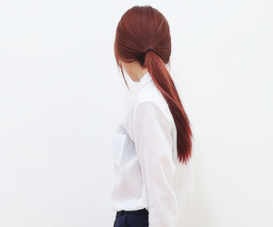 hairstyle and white image