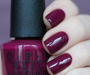nails, beauty, and opi image