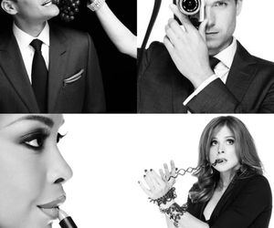 suits, gabriel macht, and gina torres image
