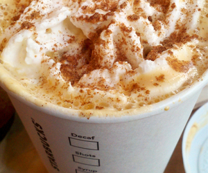 starbucks, yummy, and drink image