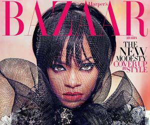 cover, Harpers Bazaar, and rihanna image