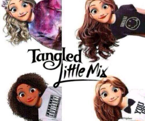 little mix, tangled, and jesy nelson image