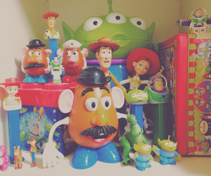 disney, my room, and potato head image