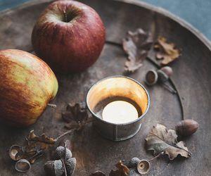 apple, fall, and food image