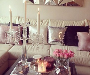 home, style, and candle image