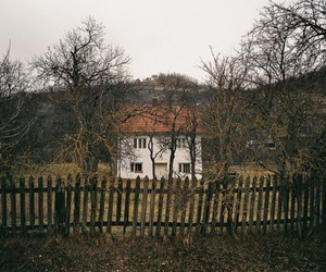 house, landscape, and photography image