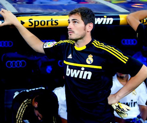 handsome, real madrid, and casillas image