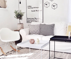 living room, scandinavia, and room inspo image