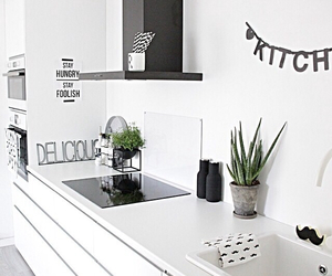 kitchen, scandinavia, and room inspo image