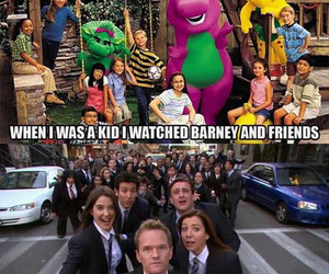 barney, how i met your mother, and funny image