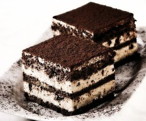 tiramisu, chocolate, and food image