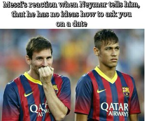 date, neymar jr, and football player image