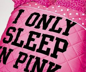 baby pink, barbie, and bed image