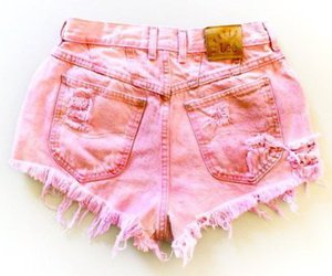 baby pink, barbie, and shorts image