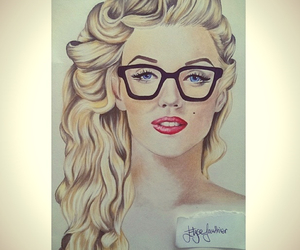 drawing, fashion, and Marilyn Monroe image