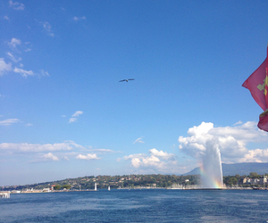 rainbow, geneve, and genf image