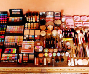 cosmetics, mac cosmetics, and make ups image