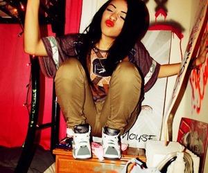 girl loves swag image