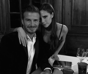 David Beckham, victoria beckham, and couple image