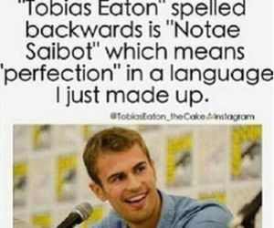 divergent, tobias eaton, and four image