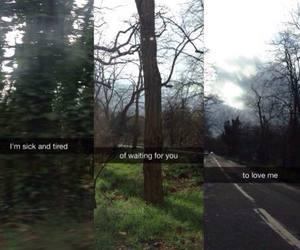 sad, snapchat, and grunge image